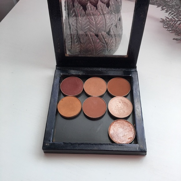 MAC Cosmetics Other - Small Z Palette-Makeup Geek and MAC eyeshadows